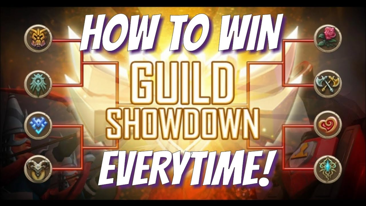 How To Win Guild Showdown Lords Mobile Youtube