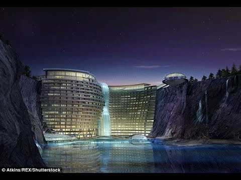 Proyecto En Construcción Hotel Shimao Wonderland Intercontinental China
