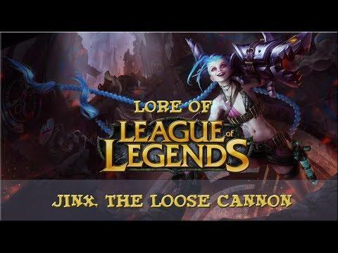 lore of league of legends part 42 jinx the loose cannon league