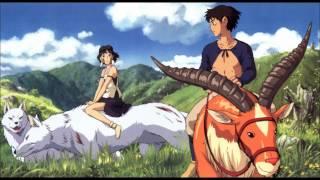 Repeat youtube video Princess Mononoke - Ashitaka and San