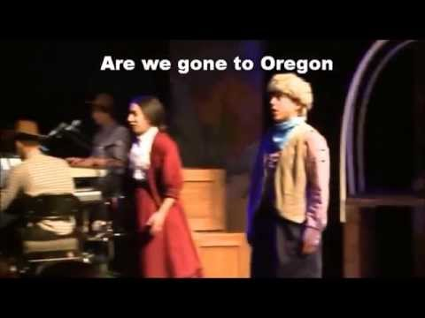 Wagon on fire lyrics -The trail to Oregon