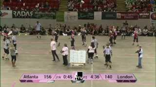 Atlanta Rollergirls v London Rollergirls: WFTDA Championships 2013 in Milwaukee