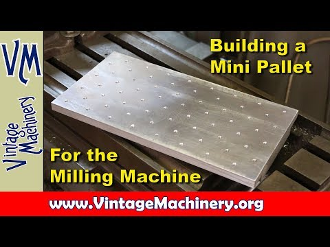 Building a Mini Pallet Clamp Device for the Milling Machine