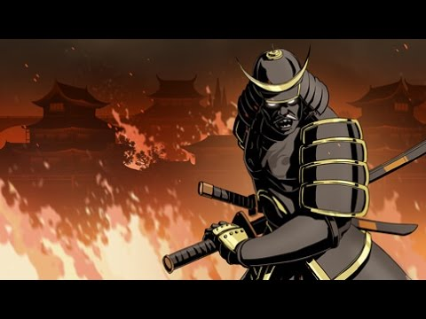 Shadow Fight 2   Act 6   Shogun + All Bodyguards (Get Shogun's Katana).