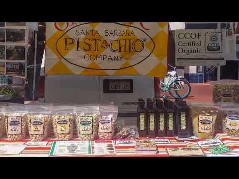 Santa Bárbara. Mercado orgánico de granjeros (Farmer's Market)