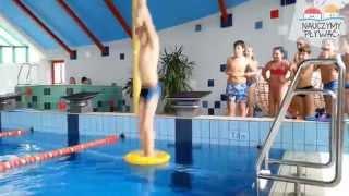 Urodziny na basenie - Zuzia (NauczymyPlywac.pl)