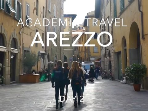 Academic Travel Vlog | Arezzo (Franklin University Switzerland)