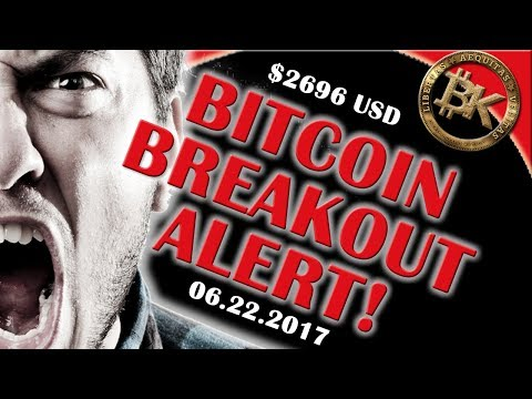⚡⚡ BTC BREAKOUT ALERT!! ⚡⚡ Bitcoin Price 2696 USD JUNE 22 | Crypto Currency Stock Chart Analysis ETH