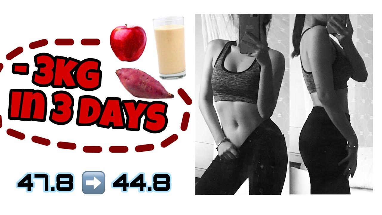 Giảm cân theo chế độ của IU trong 3 ngày ??? | Try IU Kpop idol diet 👯♀️