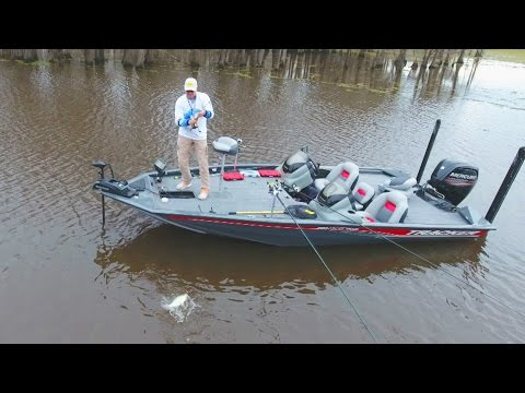 FOX Sports Outdoors SouthWEST #5 - 2017 Lake Bistineau Louisiana Crappie Fishing