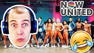 😂 MADNESS! 😂 Comedian Reacts to Now United - Crazy Stupid Silly Love!