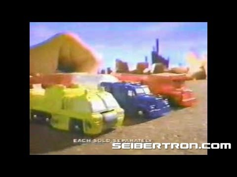 Transformers G1 Micromasters Combiners commercial