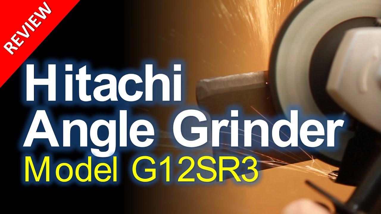 Hitachi g12sr4 4-12-inch angle grinder 6. 2 amp 980w 5 grinding.