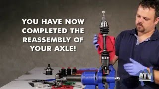 CV Axle Complete Dis-assembly/ Assembly