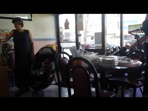 Waitress flips her lid at rude customers w/ screaming kids