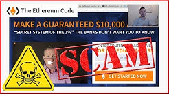The Ethereum Code is A SCAM - Honest Review!