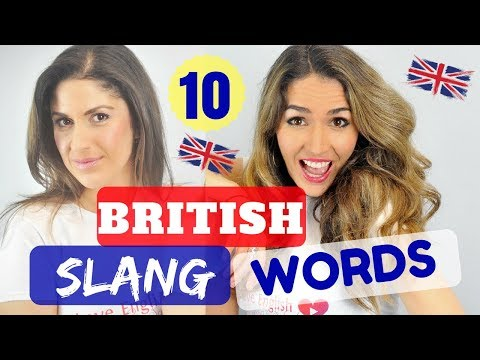 Vocabulary lesson |  Top 10 British Slang Words