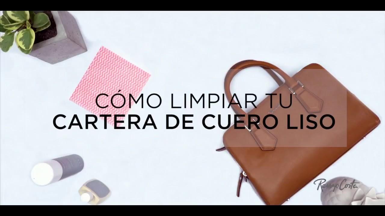 613f1ead8 Cómo limpiar carteras de cuero | Renzo Costa - YouTube