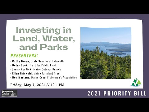 Lunch & Learn: Investing in Land, Water, and Parks