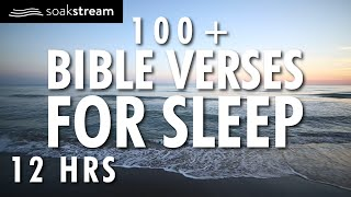 Bible Verses For Slęep | 100+ Healing Scriptures with Soaking Music | Audio Bible | 12 HRS (2020)