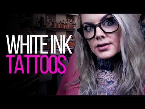 WHITE INK TATTOOS ★ TATTOO ADVICE ★ by Tattoo Artist Electric Linda