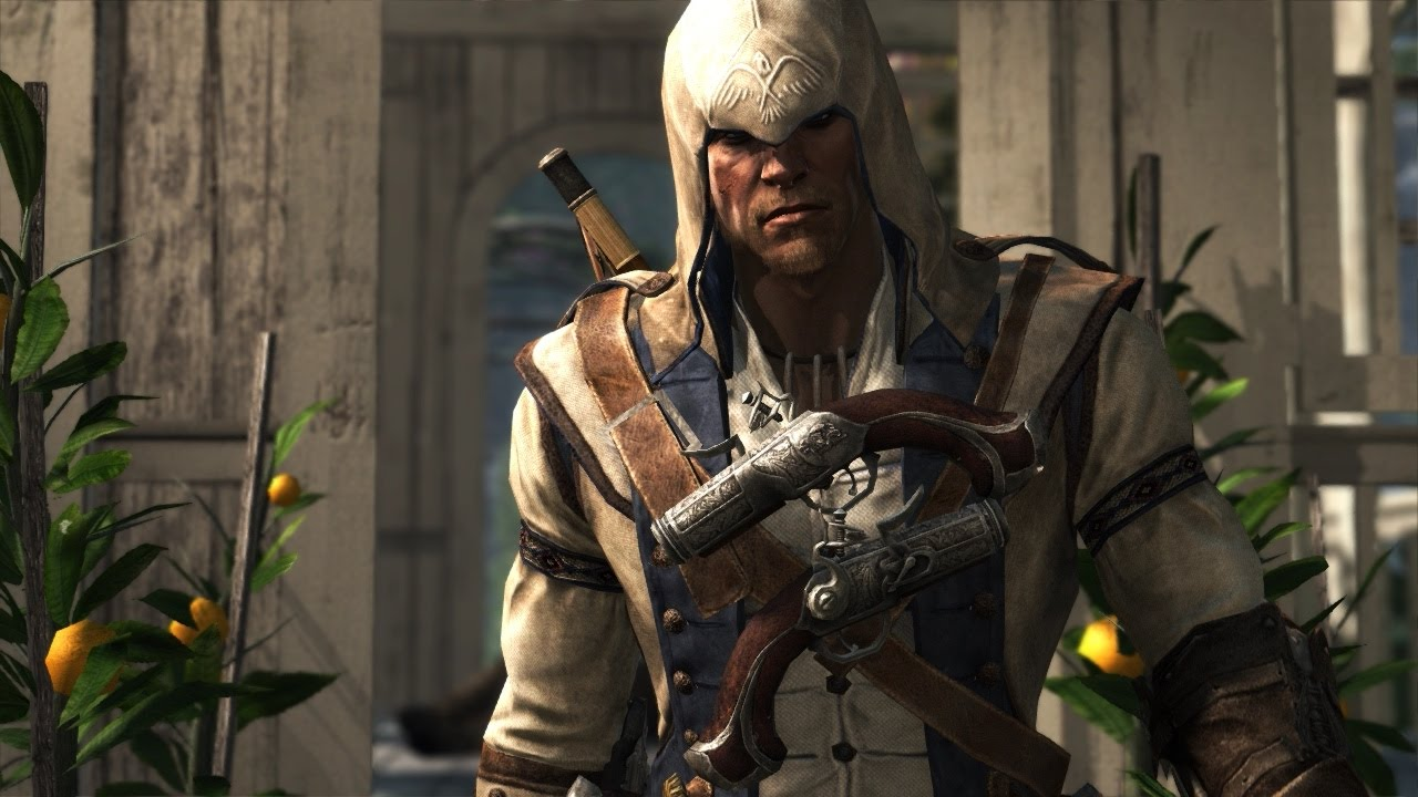 Assassin S Creed 4 Connor Kenway Outfit Dual Cleavers Cannon