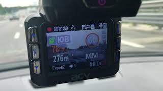 видео Видеорегистратор ACV GX-5000 Комбо