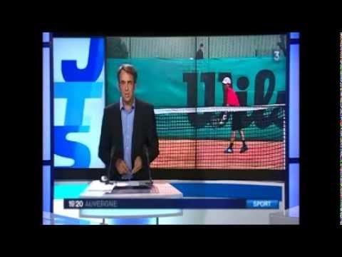 France 3 Auvergne : Reportage sur les Championnats d'Auvergne jeunes à Vichy