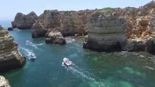 2016.06.27 - Полет над лодочным шоссе побережья Lagos (Португалия)