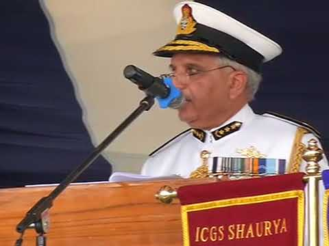Indian Coast Guard ship commissioned in western Goa city