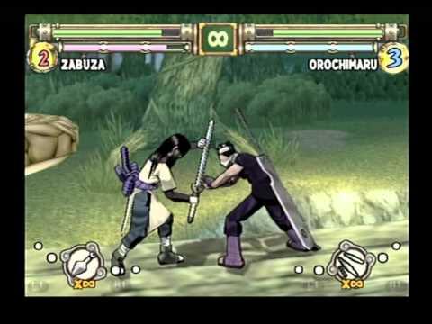 Zabuza vs orochimaru