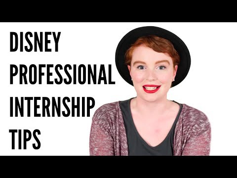 Disney Professional Internship: My Application Process + Prior Experience