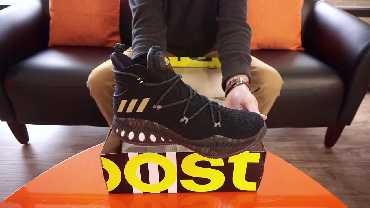 ADIDAS CRAZY EXPLOSIVE PrimeKnit GAUNTLET Basketball Shoe SKU# DA9712 RevUp Sports Unboxing
