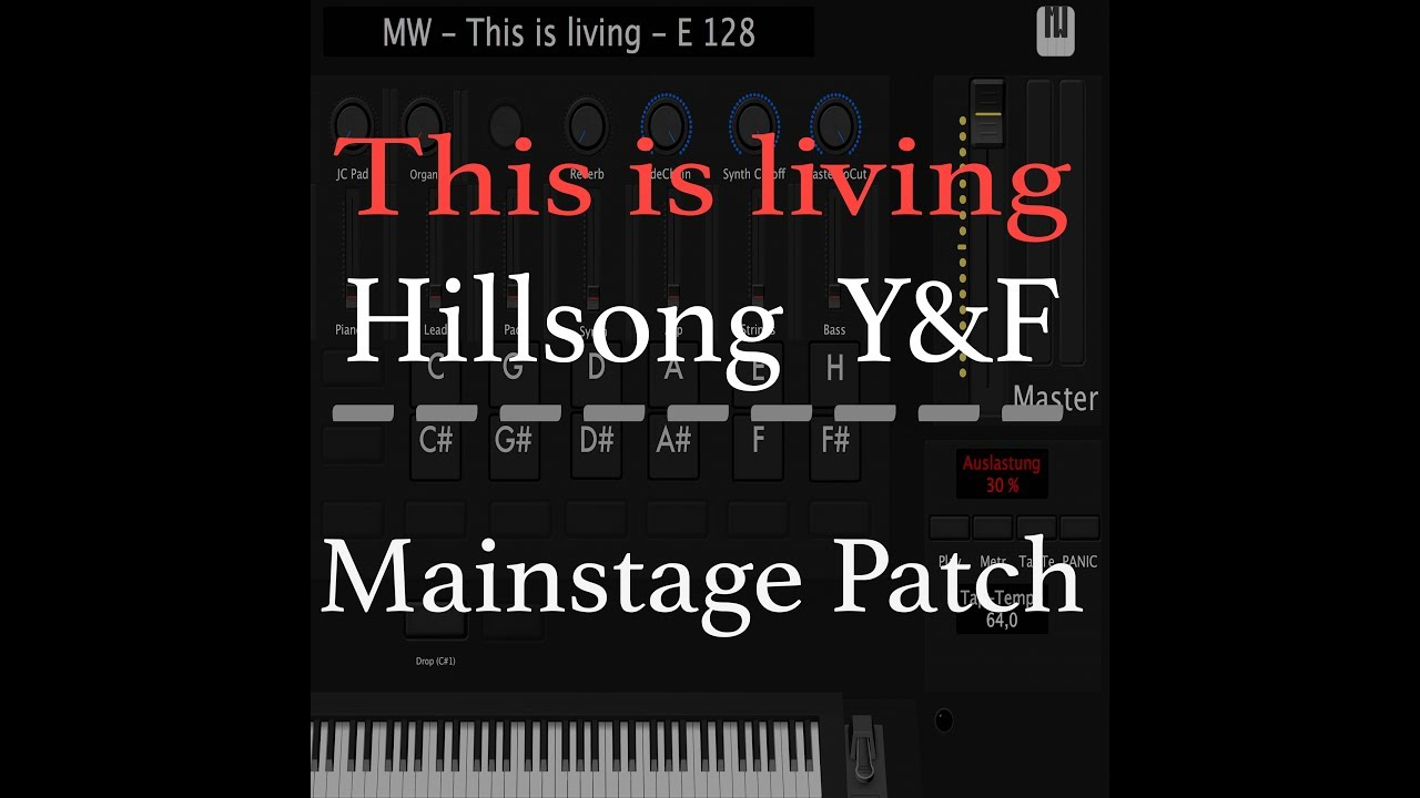 This is living Hillsong Young & Free Mainstage Patch Y&F (update)