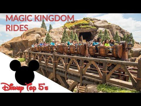 Top 5 Magic Kingdom Rides, Walt Disney World