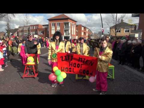Vastelaovundj (carnavals-) optocht Nederweert 2014