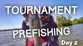 Fishing in my First Kayak Bass Fishing Trail Tournament - Prefishing Day 2