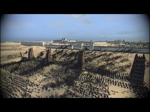 SIEGE OF JERUSALEM  (1187) Cinematic l Regain of Jerusalem by Saladin l Medieval Kingdoms Mod