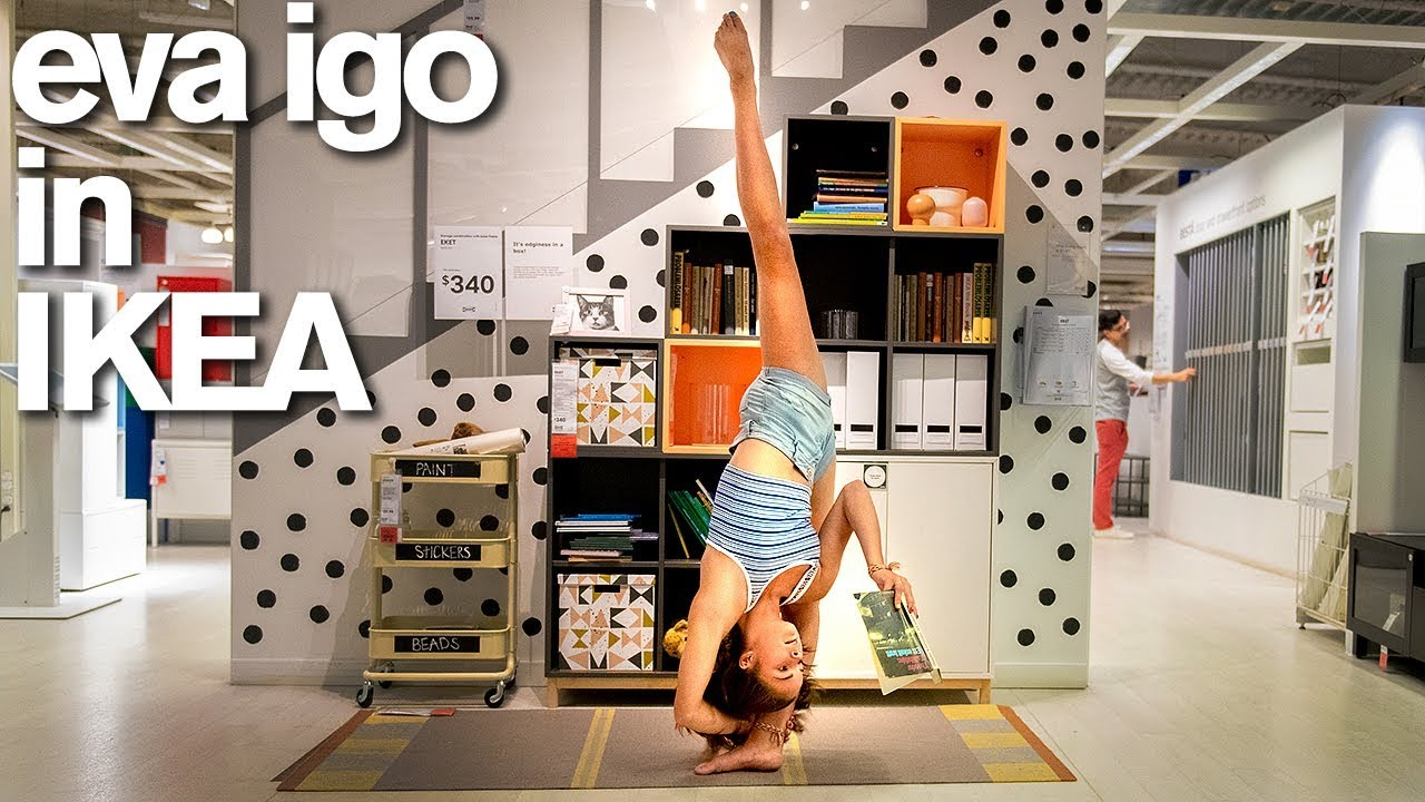 Eva Igo BUSTED in IKEA for 10 Minute Photo Challenge (World of Dance) #1