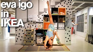 Eva Igo BUSTED in IKEA for 10 Minute Photo Challenge (World of Dance)