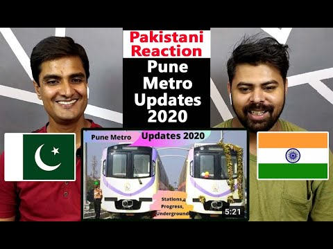 Pune Metro Train |  Station, Rail Project Update, Progress, Design | Pakistani Reaction