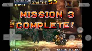 Metal Slug 7 Easy Mode (All Stages Complete)