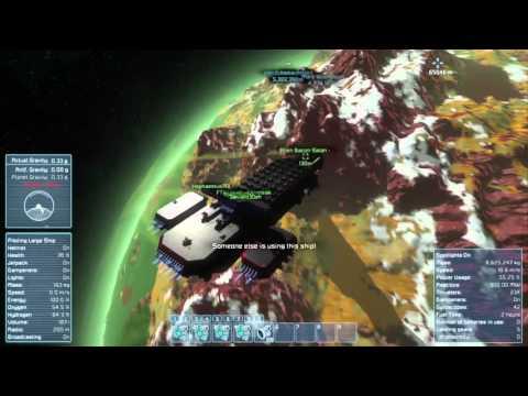 Space engineers Planet survival Season 1 Finale (episode 15) Group effort! Disaster