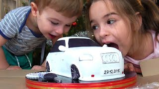 Lana and Timur are preparing a Surprise for Dad's birthday