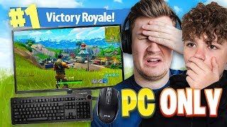 *FIRST TIME* PLAYING FORTNITE ON THE PC | Fortnite: Battle Royale