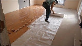 USTASINDAN LAMİNAT PARKE BÖYLE DÖŞENİR - laminate flooring