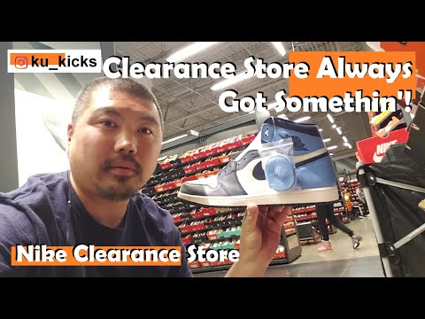 This Nike Outlet Is Where You Go For Steals! [Nike Clearance Center]