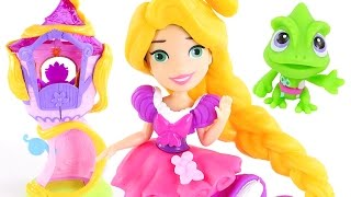 Little Kingdom Rapunzel Styling Tower Disney Princess Hair Salon Toy Playset 2016 by DCTC