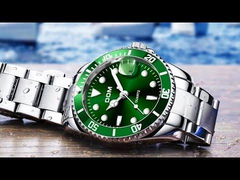 Роскошные мужские водонепроницаемые часы DOM / Luxury Men's Waterproof DOM Watch