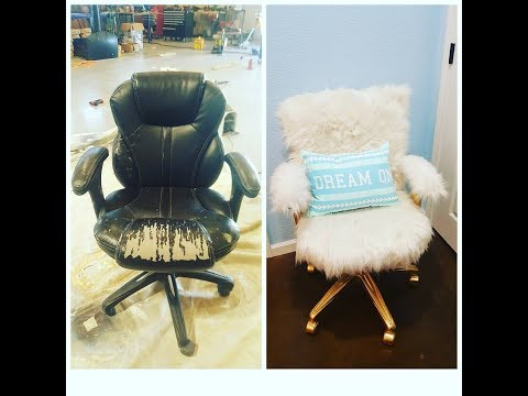 Chair makeover!! Cost $20